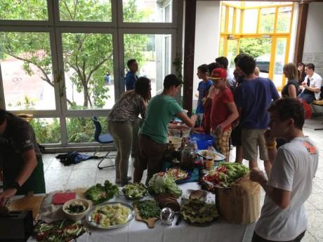 Catering - Projektwoche I'LL WORK in der Oberschule Friedensburg