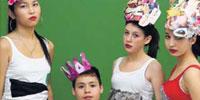 Schüler-Models in der Schule am Schloss