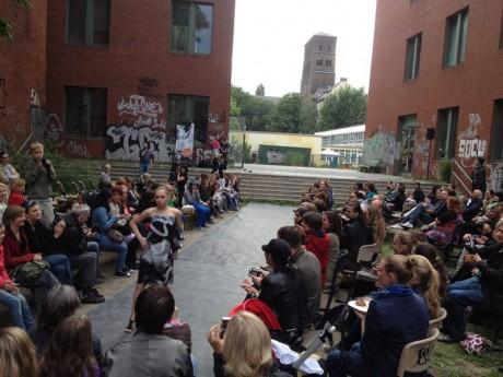 HSG Berlin Abschlussevent Modenschau