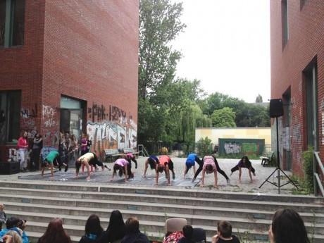 HSG Berlin Abschlussevent Performance