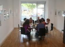 Delegation der italienischen Lehrer besucht FIKO im Work-Shop